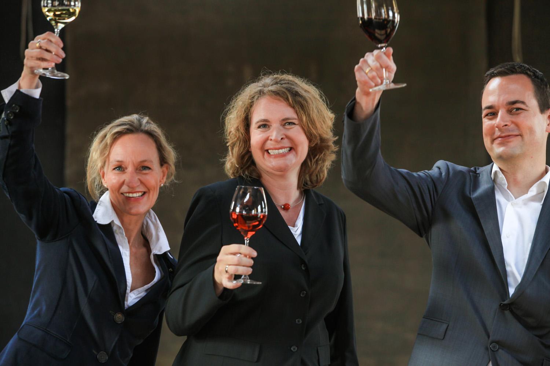 Meike Frers, Elke Fierenz, Jan Koch, Geschäftsführer ff.k