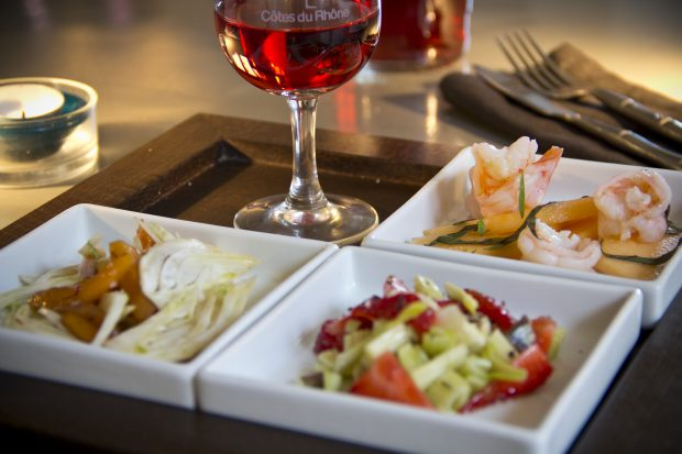 Le Verre Gourmand des Vins des Cotes du Rhone     /