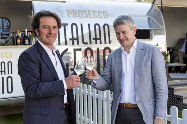 Präsident Stefano Zanette - General Manager Luca Giavi