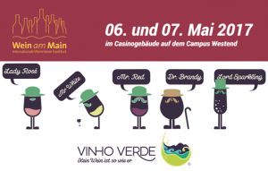 Vinho Verde auf der Wein am Main