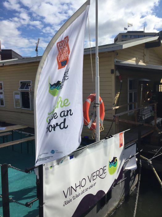 Vinho Verde auf den Hamburg Cruise Days 2017