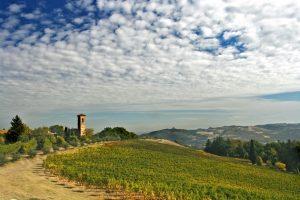 Landschaft der Emilia Romagna