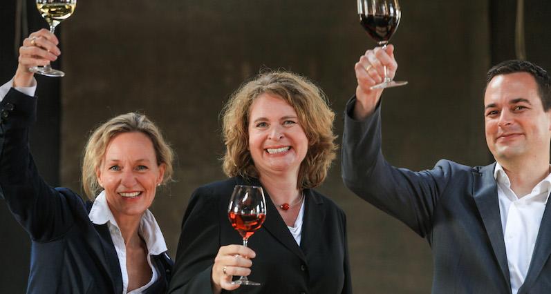 Meike Frers, Elke Fierenz und Jan Koch