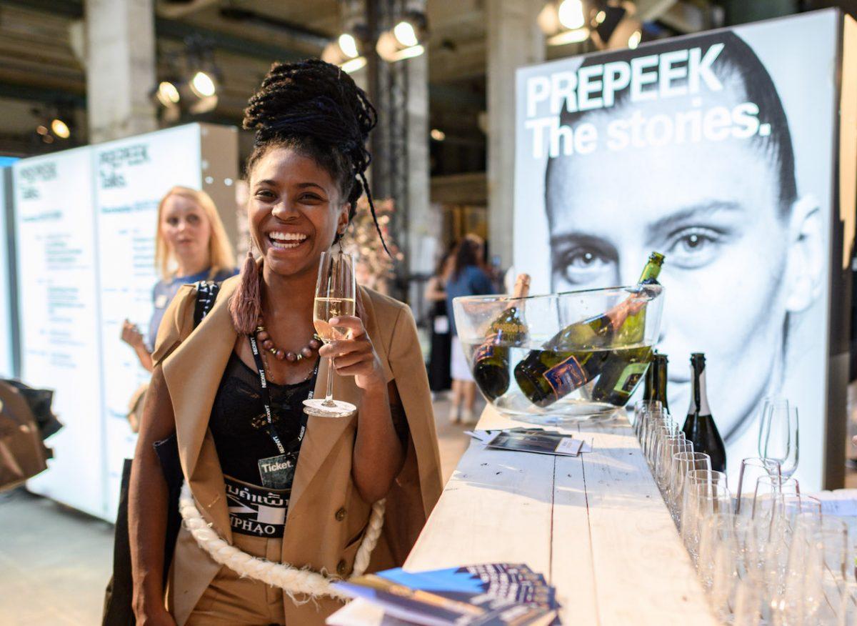 Prosecco DOC auf der Neonyt - Messe für nachhaltige Mode in Berlin