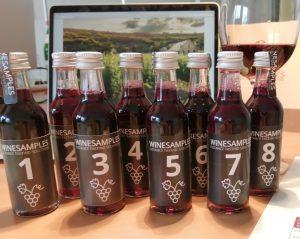 Online Tasting mit Mini-Bottles