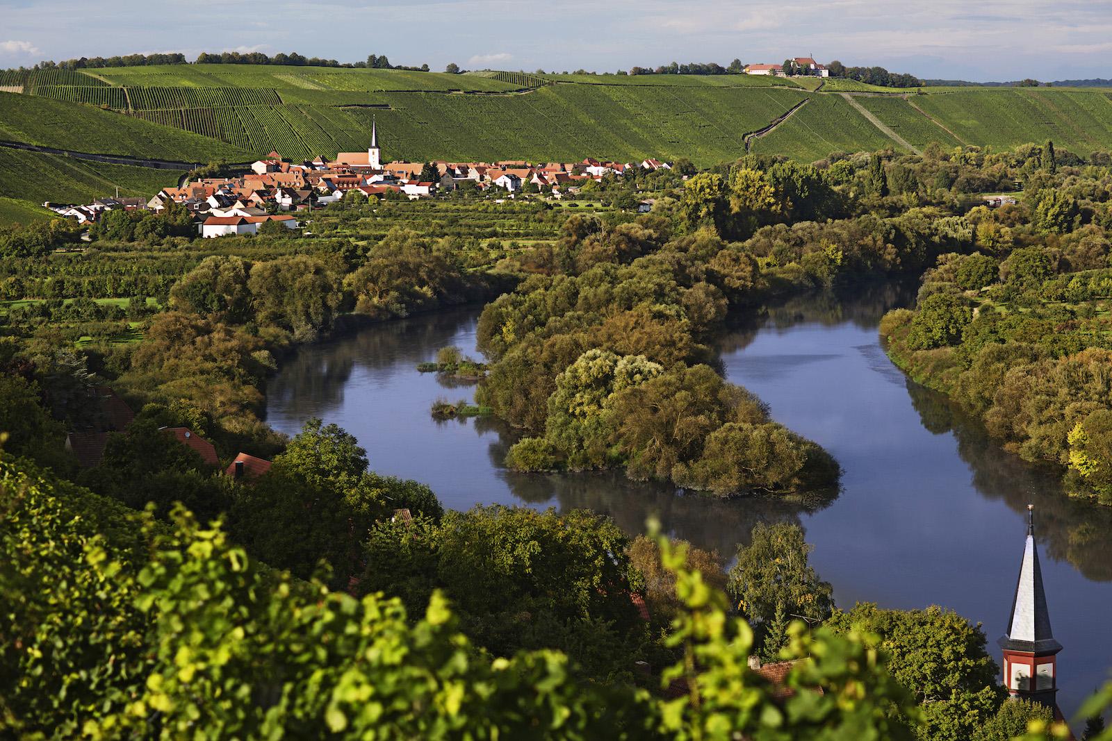 Landschaftsbild aus Franken
