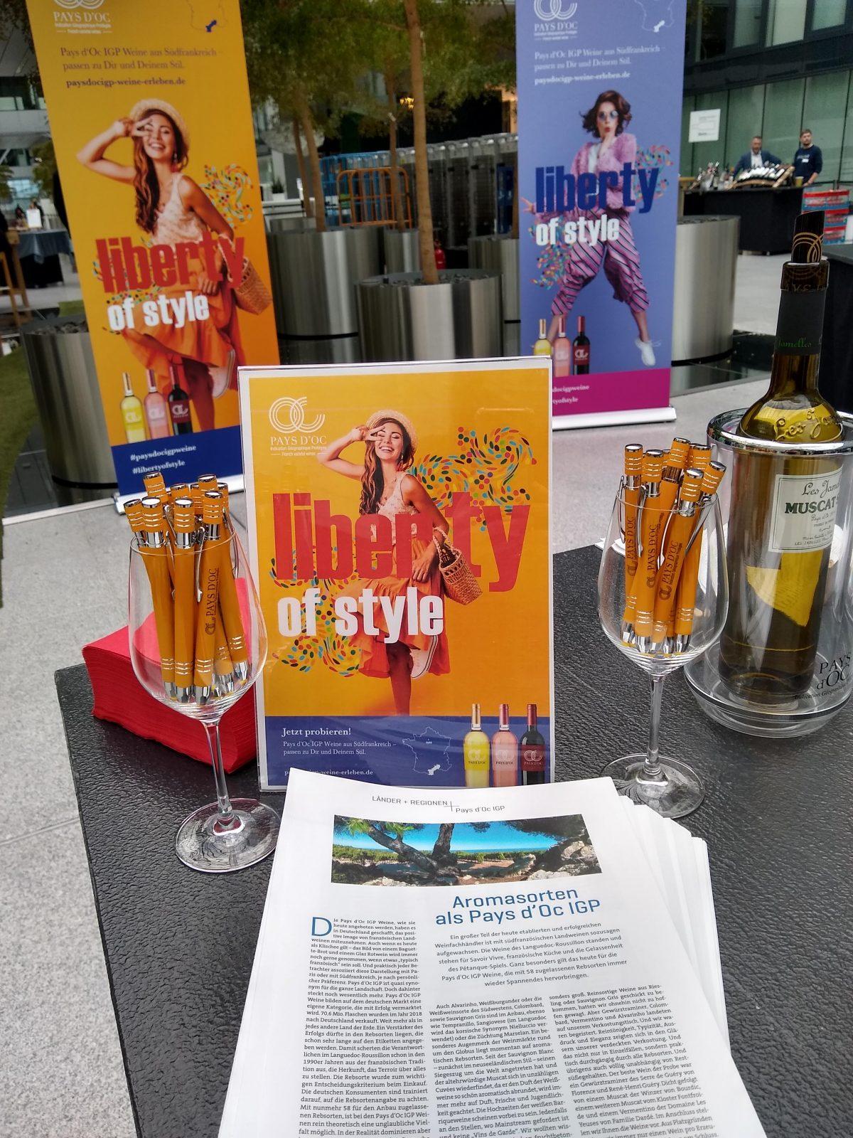 Pays d'Oc auf dem Wein+Markt Fachhandelstag