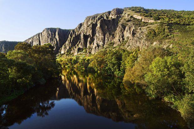 Beispielfoto des Weinanbaugebiets Nahe