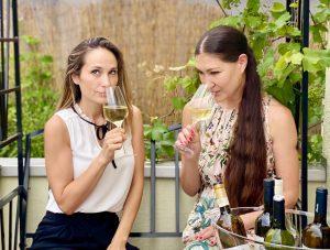 Foodbloggerin Zoe Torinesi und Sommelière Shirley Amberg verkosten Rueda-Weine