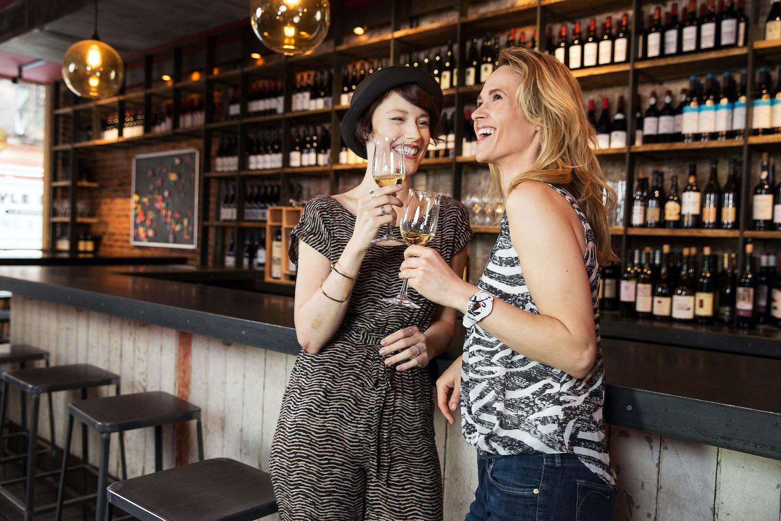 Weinentdecker in der Weinbar