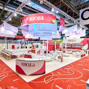 Rioja stand at ProWein 2018