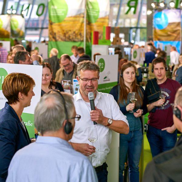 Weintour consumer wine and tourism fair in Hamburg, Munich and Essen in Germany
